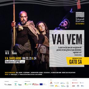 GATO SA apresenta 'Vai Vem' nos dias 22, 23 e 24 deSetembro
